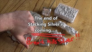 The end of Silver Stacking in the UK - Brexit is to blame!