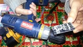 Cómo actualizar batería a Litio de forma profesional con BMS y cargador (ejemplo batería ONE+ Ryobi)
