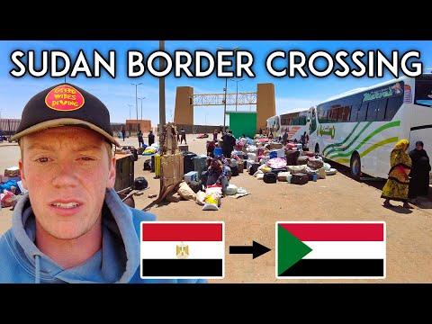 EGYPT - SUDAN BORDER CROSSING: My Insane 48 Hour Bus Journey to Sudan | Sudan Travel Vlog