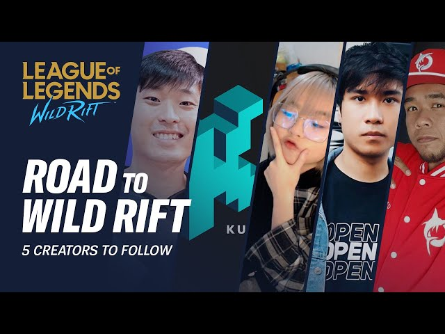 5 Creators to Follow | Road to Wild Rift