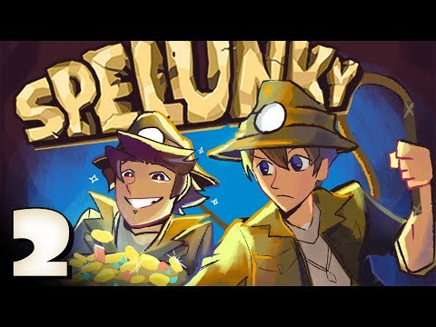 Spelunky Co-op: My New Sloth Friend - EPISODE 2 - Friends Without Benefits