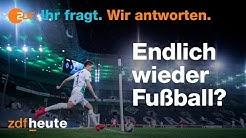 Corona-Sprechstunde: Wann startet die Fußball-Bundesliga?