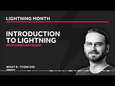 Christian Decker - An Introduction To The Lightning Network
