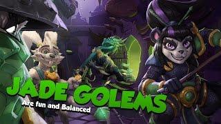 Jade Golems are Fun and Balanced [Hearthstone Highlights]