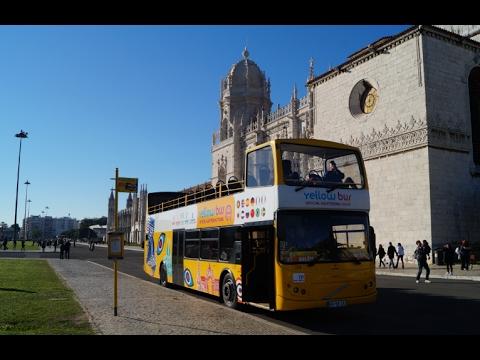 Bus Ride in Lisbon - Portugal