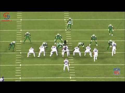 Bills Xs and Os | Wing Counter Trey Lesean Mccoy 7 yards