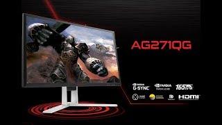 aOC AG271QX  Быстрый обзор на данную линейку мониторов