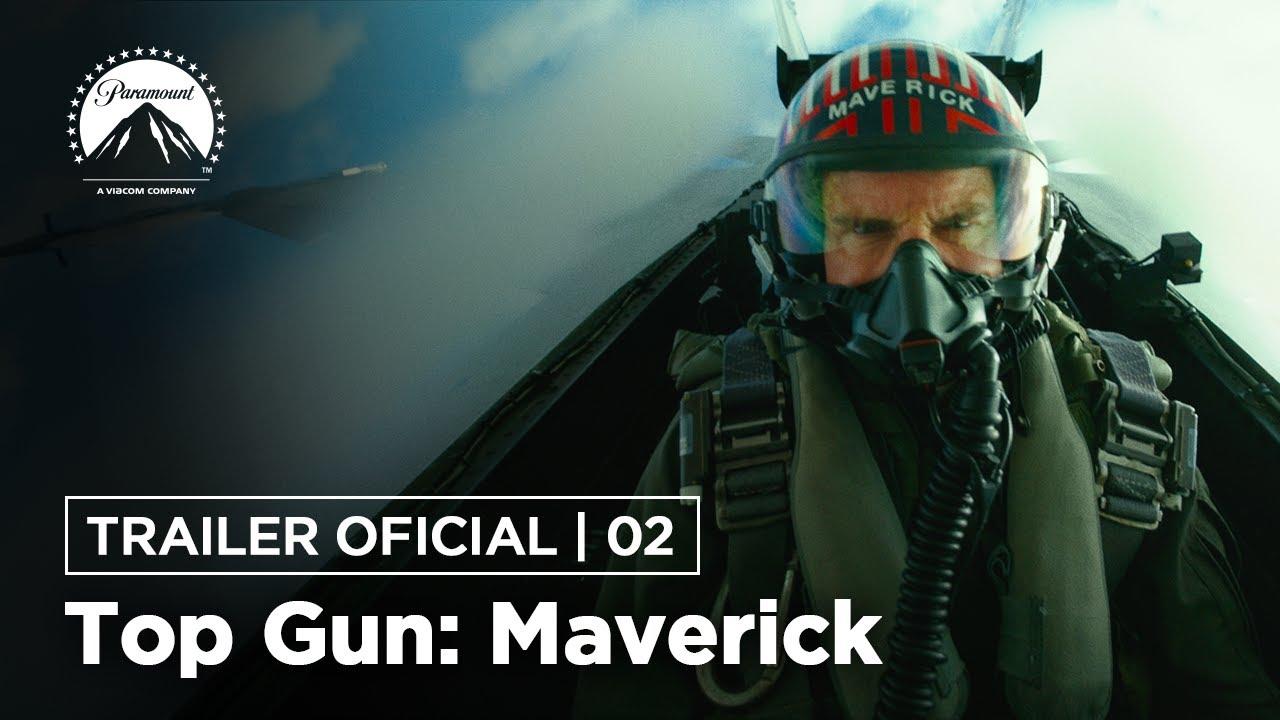 Top Gun: Maverick | Trailer Oficial 2 | DUB | Paramount Pictures Brasil