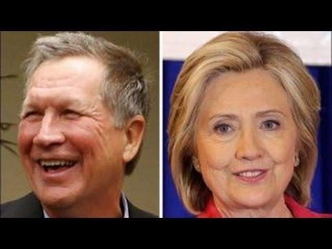 Fox News projects John Kasich, Hillary Clinton win Ohio