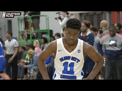 Freshman PG Zion Harmon Highlights @ EYBL in Dallas!