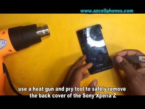 Sony Xperia Z - Back Cover Removal