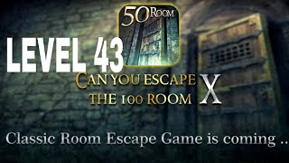 Can You Escape The 100 room X level 43 Walkthrough