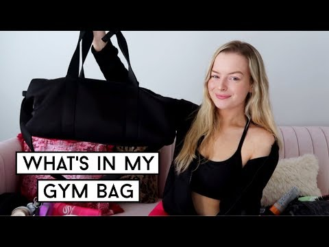 WHAT'S IN MY GYM BAG! Beginners Gym Must Haves