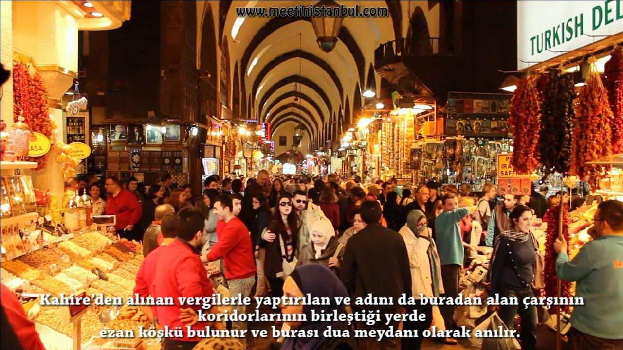 mısır çarşısı istanbul Egyptian Bazaar hd spice bazaar istanbul - YouTube