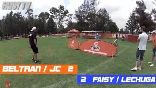 Futbol tenis Faisy y Lechuga vs. Joaquin Beltran y JC en el Gatorade GCamp