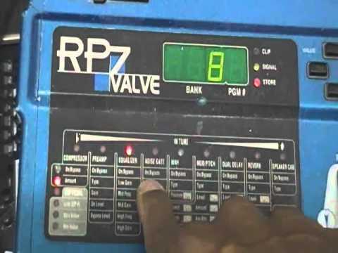 Rp digitech valve инструкция 7