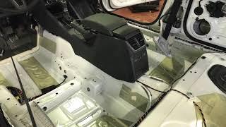 видео Шумо-вибро изоляция важный фактор комфорта в автомобиле