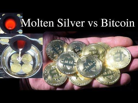 Molten Silver vs Bitcoin