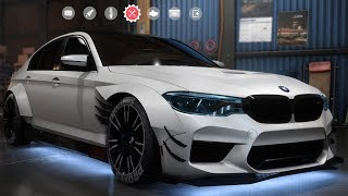Need For Speed: Payback - BMW M5 - Customize | Tuning Car (PC HD) [1080p60FPS]