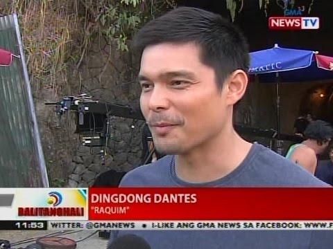 BT: Dingdong Dantes, sumabak na sa unang taping day para ...