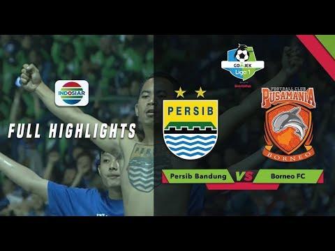 Persib Bandung (3) vs (1) Borneo FC - Full Highlight | Go-Jek Liga 1 bersama Bukalapak