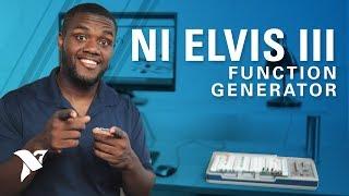 NI ELVIS III Instrumentation Video Series: Function Generator screenshot 5
