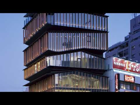Kengo Kuma talks about ASAKUSA CULTURE TOURIST INFORMATION CENTER