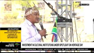 Makhura urges investment in cultural institutions