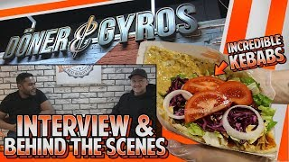 MJ and Gossi check out Doner & Gyros as the popular brand launches ...