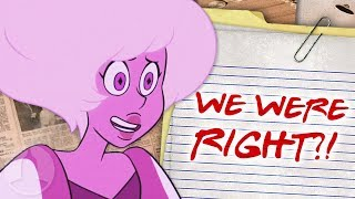 Pink Diamond Theory CONFIRMED! We Were Right?! | Channel Frederator