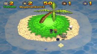 Bomberman 64: The Second Attack Battle Mode with MegamanSonicX!