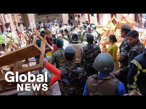More than 200 killed, hundreds more injured in 8 bomb blasts in Sri Lanka