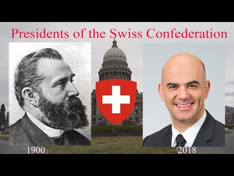 Presidents of the Swiss Confederation