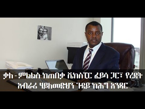 Ethiopian Airlines Co-pilot case: Interview with Attorney Shakespear Feyissa