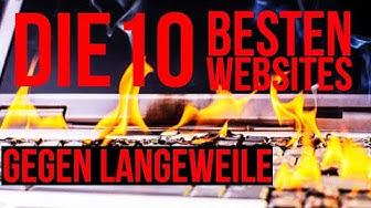 Die 10 besten WEBSEITEN gegen LANGEWEILE