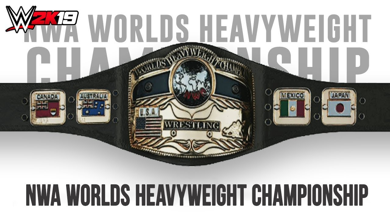 WWE 2K19 - How To Make The NWA Worlds Heavyweight Championship [2018]