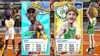 QJB OUTSHOOTS LARRY BIRD FROM 3 POINT RANGE! NBA Playgrounds Gameplay Ep. 28