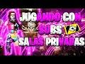- 🔴 FREE FIRE EN VIVO//SALAS PRIVADAS //GUERRA DE PAISES// JUGANDO CON SUBS//REGIONSUR 20, 300 SUBS?