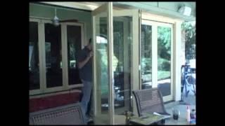 advanced window systems inc   jeld wen folding door installation