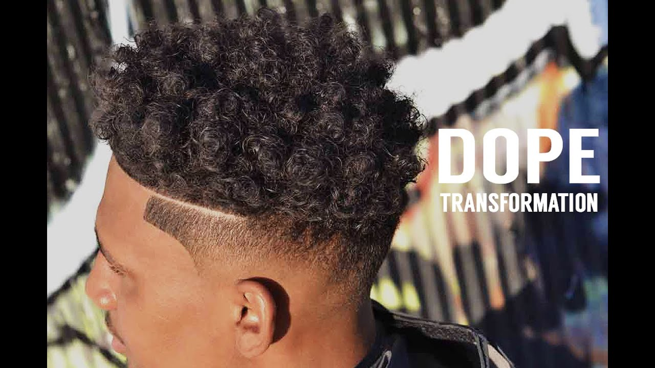 Low Fade Get Dope Curls Twists Sponge Curl Sponge