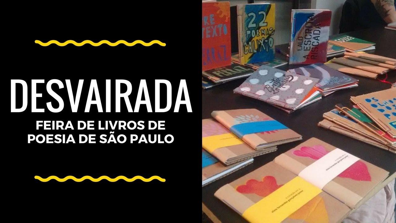 Desvairada - Feira de Livros de Poesia de São Paulo |  Malha Fina Cartonera