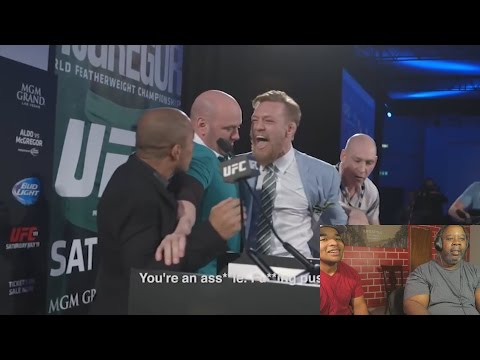 Dad Reacts to Conor McGregor - The Best Of Trash Talk