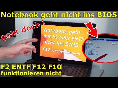Notebook BIOS Aufrufen (UEFI) Mit Windows 8.1 Und 10 Ohne
