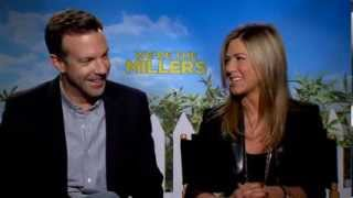 We're The Millers - Jennifer Aniston & Jason Sudeikis Interview - Official Warner Bros. UK