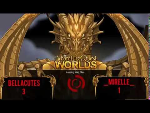 Aqw Royal Vampire Lord Vs Lycan Bellacutes Vs Mirelle Youtube