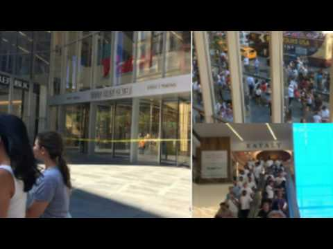 World Trade Center Evacuated Due to K-9 Hit On Suspicious Package