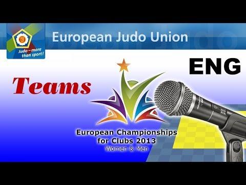 European JUDO Championships for Clubs 2013 - Paris FRA