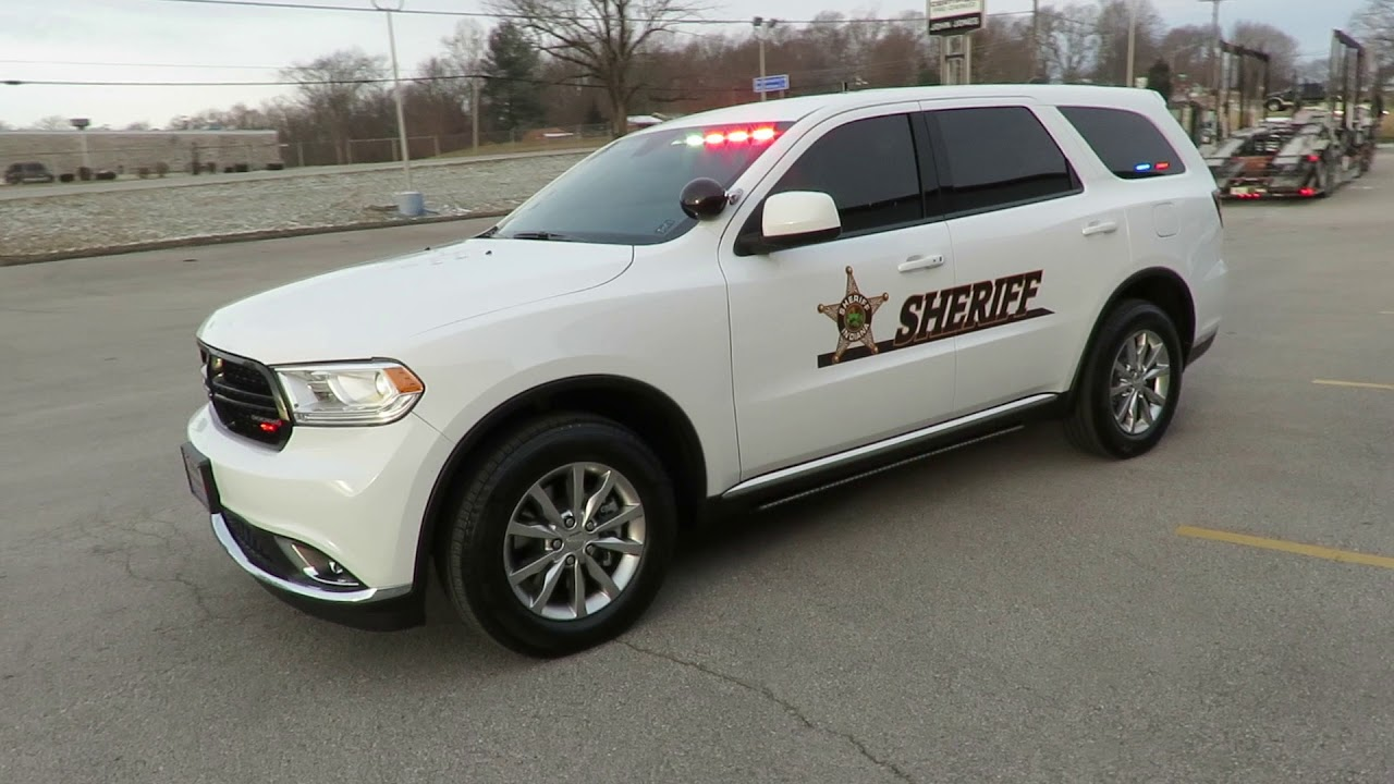 2018 Dodge Durango Police Pursuit Vehicle | John Jones Police Pursuit Vehicles - YouTube