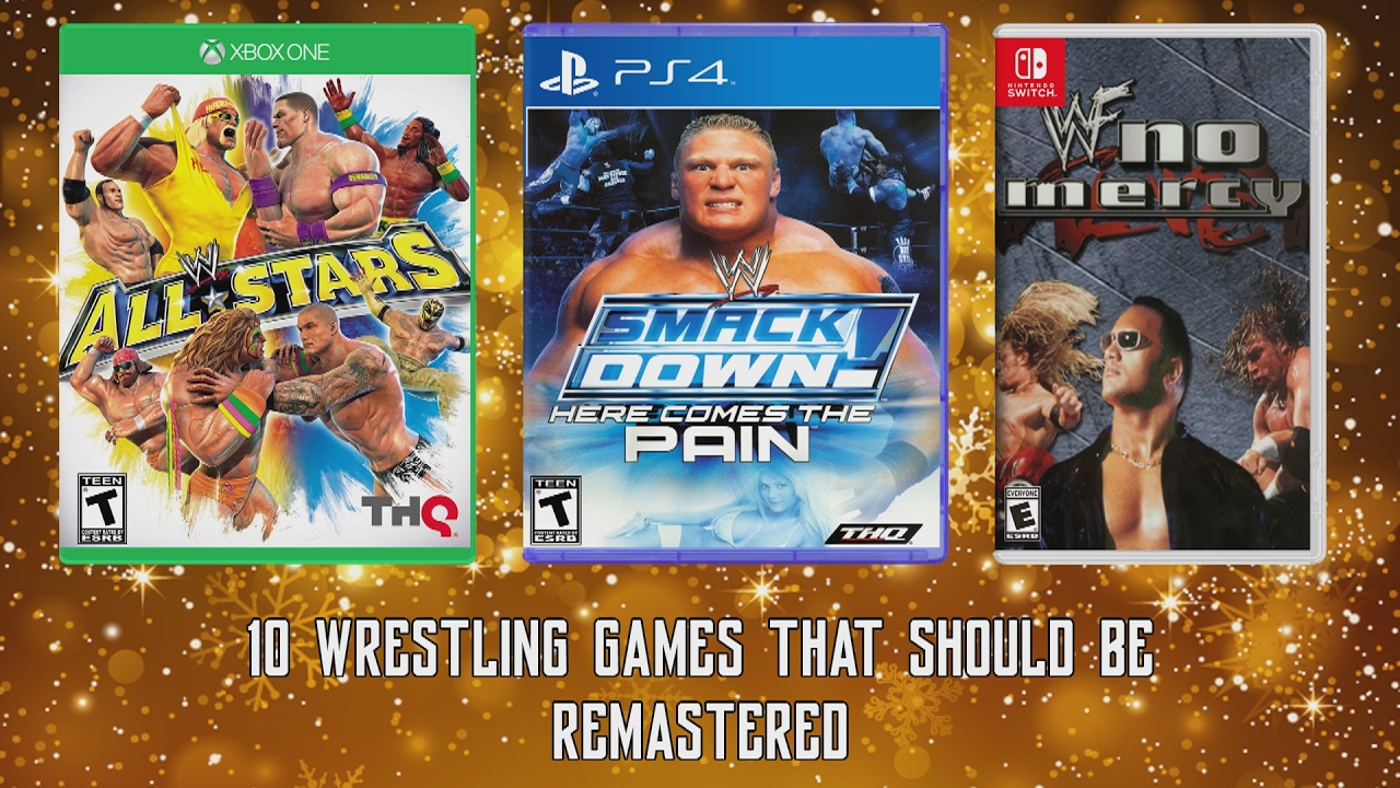 10 Wrestling Games That Should Be Remastered Includes