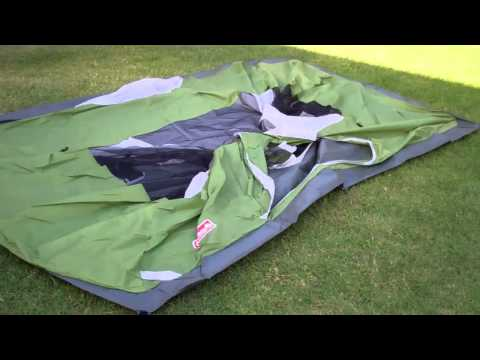 A look at the Coleman 9X7 4 person Sundome Tent